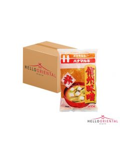 HANAMARUKI SHINSHU MISO RED 400G (CASE OF 12)