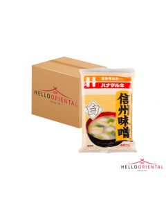 HANAMARUKI SHINSHU MISO WHITE 400G (CASE OF 12)