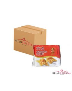 HAPPY BOY FRIED WONTON PASTRY 250G (CASE OF 48)