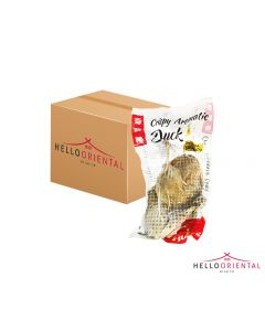 HUAYING CRISPY AROMATIC DUCK 600G (CASE OF 18)