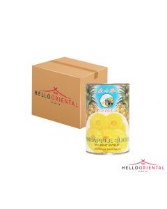 MOUNT ELEPHANT PINEAPPLE SLICES IN LIGHT SYRUP 425G (CASE OF 24)