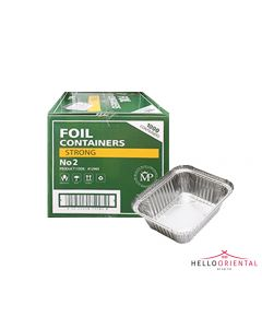 MP FOIL CONTAINERS STRONG 2 (CASE OF 1000)