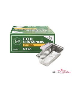 MP FOIL CONTAINERS STRONG 6A (CASE OF 500)