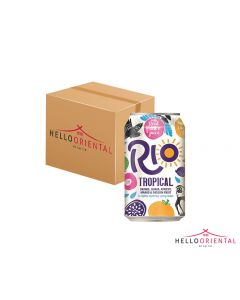 RIO TROPICAL FRUIT DRINK 330ML (CASE OF 24)