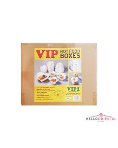 VIP HOT FOOD BOXES VIP1 123X103X46MM (CASE OF 540)